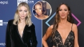 Inset Photo of Faith Stowers over Side-by-Side Photos of Stassi Schroeder and Kristen Doute