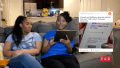 Yolanda and Daughter Karra Reading a Reddit Comment