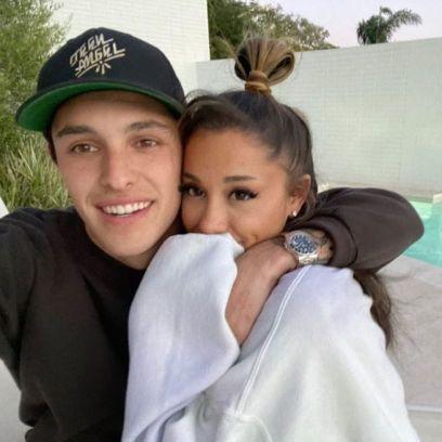 Ariana Grande Dalton Gomez Skip 2021 MTV VMAs