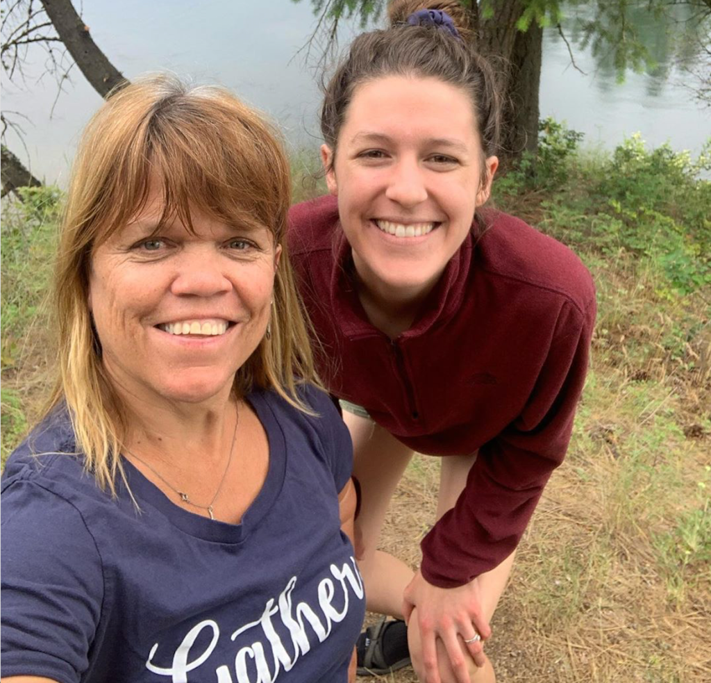 Amy Roloff and Molly Roloff