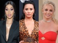 cardi b, demi lovato, britney spears and more celebrities participate blackout tuesday