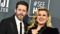 Kelly Clarkson and Husband Brandon Blackstock Smile Before Divorce