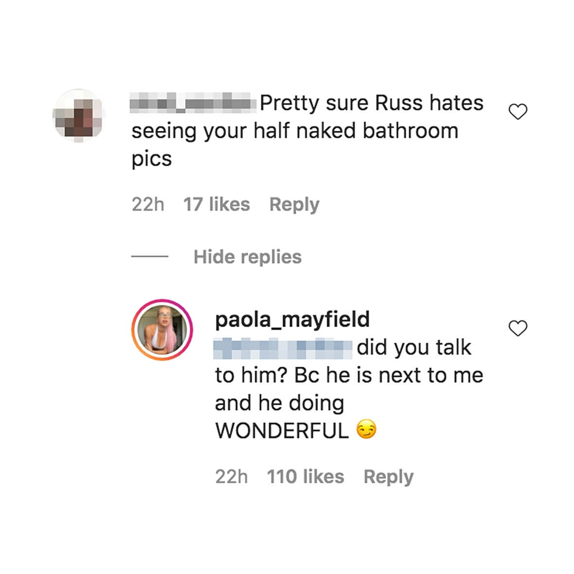 90 Day Fiance Paola Mayfield Claps Back Shade