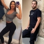 Side-by-SIde Photos of Anfisa Nava and Jorge Nava