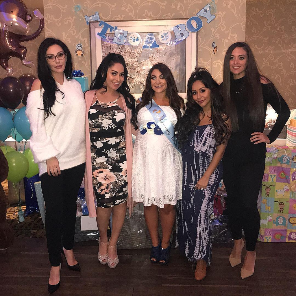 Angelina Pivarnick Slams Deena Cortese for Wedding 'Drama' Despite Being Respectful at CJ's Baptism
