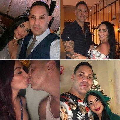 Angelina Pivarnick and Chris Larangeira Relationship Timeline