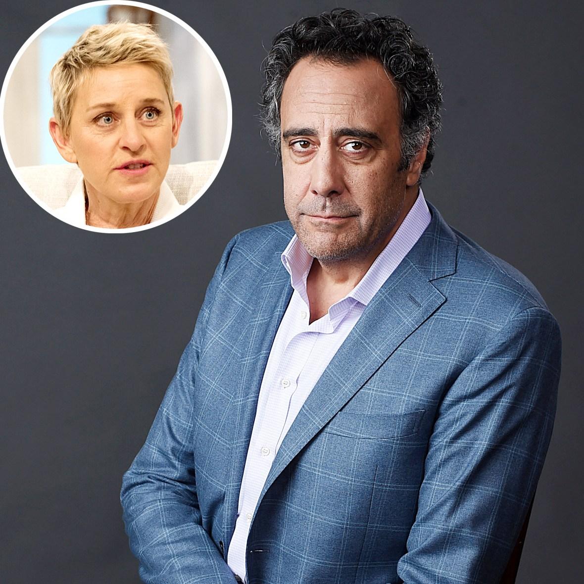 Brad Garrett Slams Ellen DeGeneres After Her Statement It Came From Top