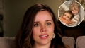 Inset Photo of Henry and Ivy Seewald Over Photo of Jessa Duggar