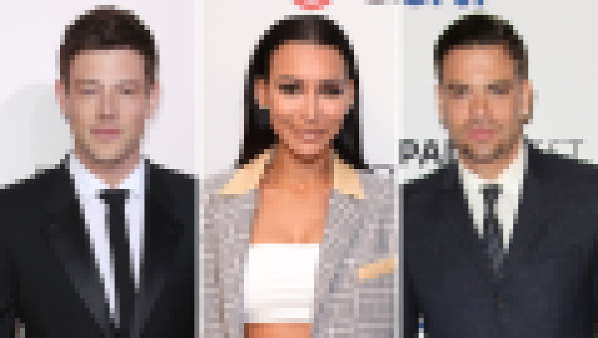Side-by-Side Photos of Cory Monteith, Naya Rivera and Mark Salling