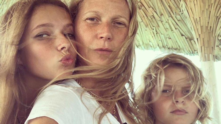 Gwyneth Paltrow Buys Son Moses Martin, 14, a 'Boob Puzzle'