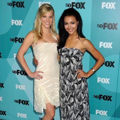 Heather Morris and Naya Rivera