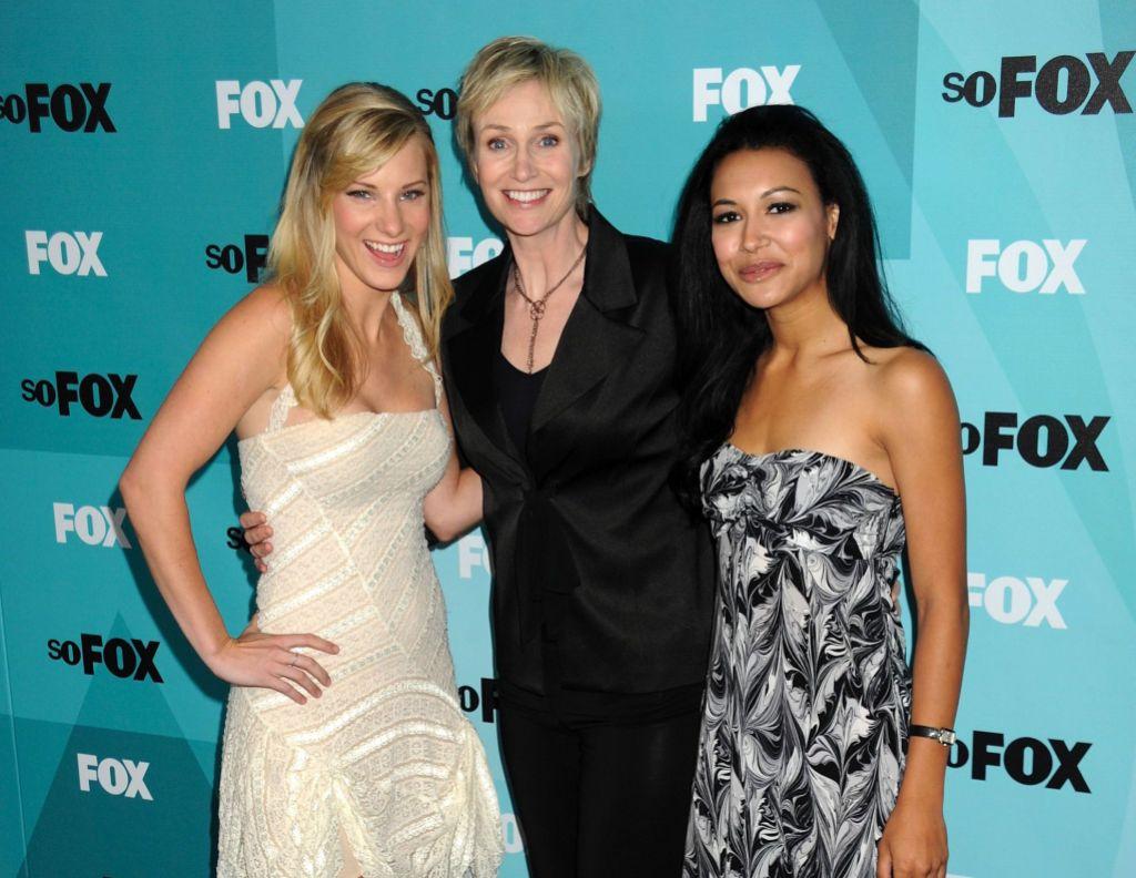 Heather Morris, Jane Lynch and Naya Rivera