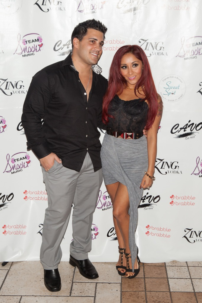 Jersey Shore's Snooki and Husband Jionni LaValle