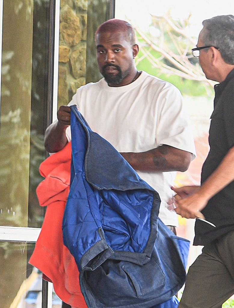Kanye West Checks Into Wyoming Hospital