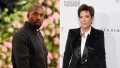 Side-by-Side Photos of Kanye West and Kris Jenner
