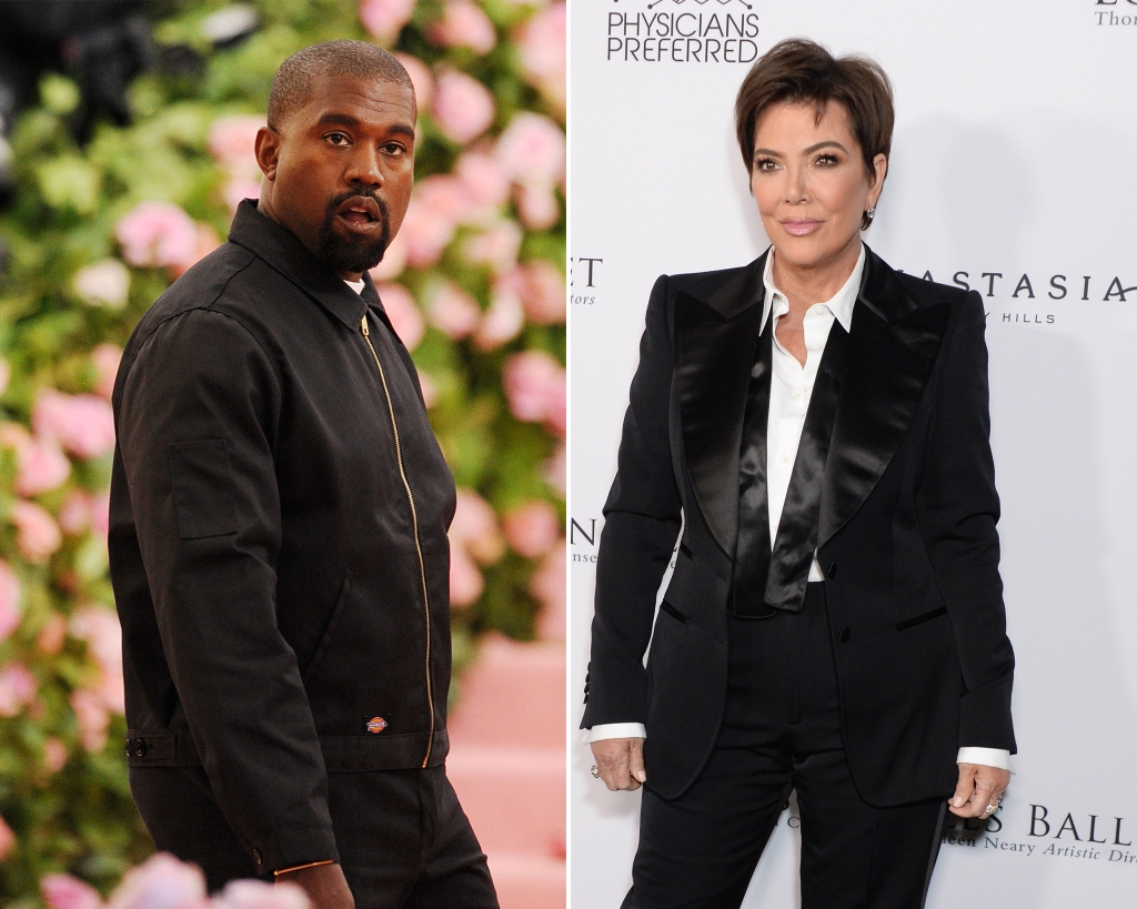 Kanye West's 'Resentment' of Mother-in-Law Kris Jenner Was 'Brewing'