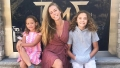 Kendra Wilkinson Gets Pooped On at the Beach and her Kids Think Its Funny