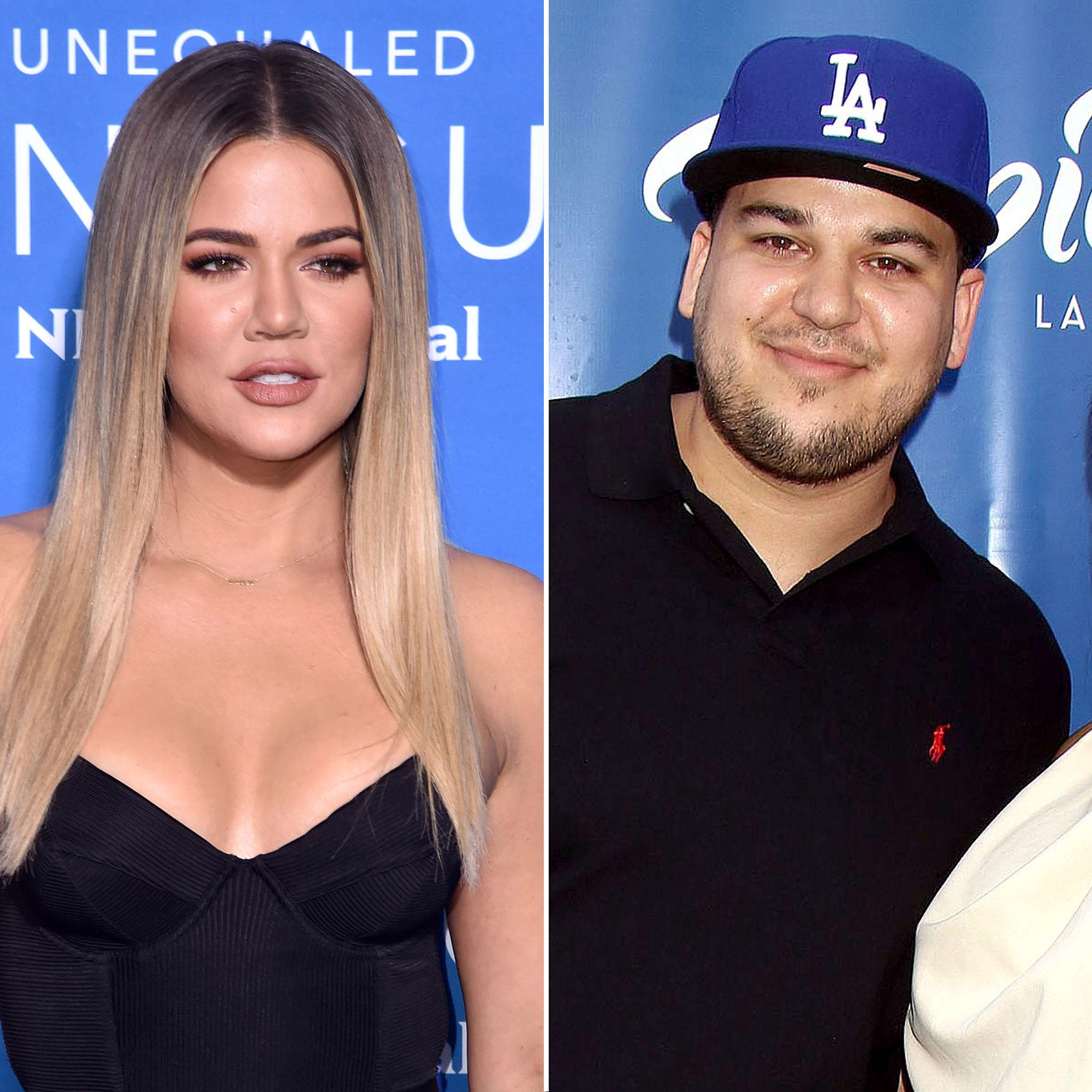 Kardashian now is rob where Khloé Kardashian