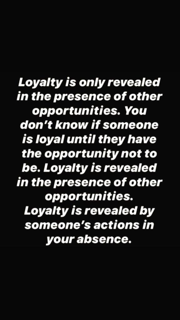 Khloe Kardashian Shares Quote on Loyalty After Tristan Reunion