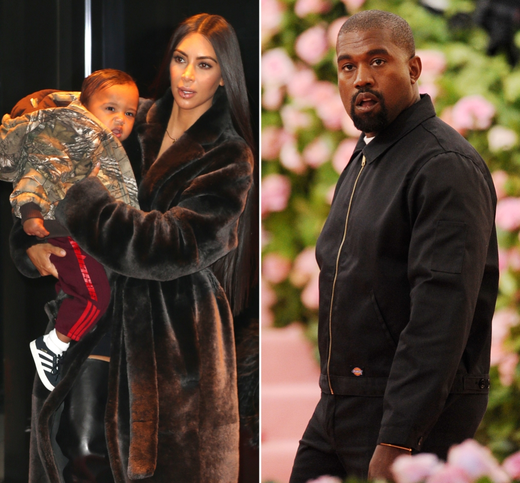 Kim Kardashian Is 'Trying to Hold It Together' for Kids Amid Kanye Drama