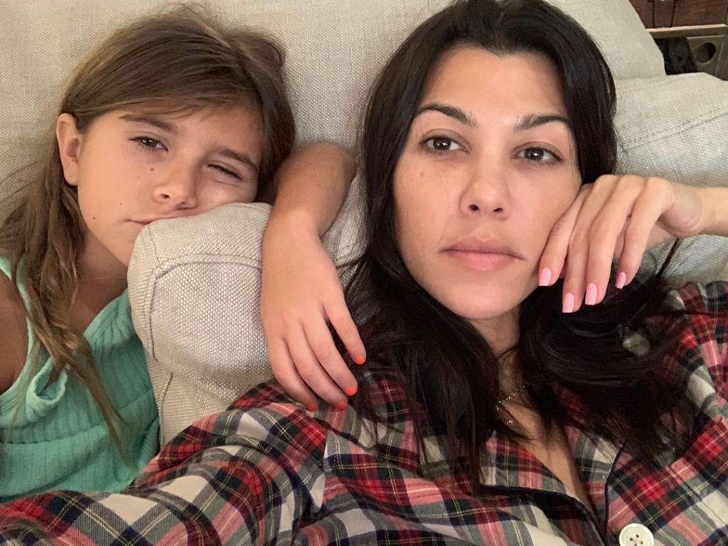 Kourtney Kardashian PIcs With Penelope