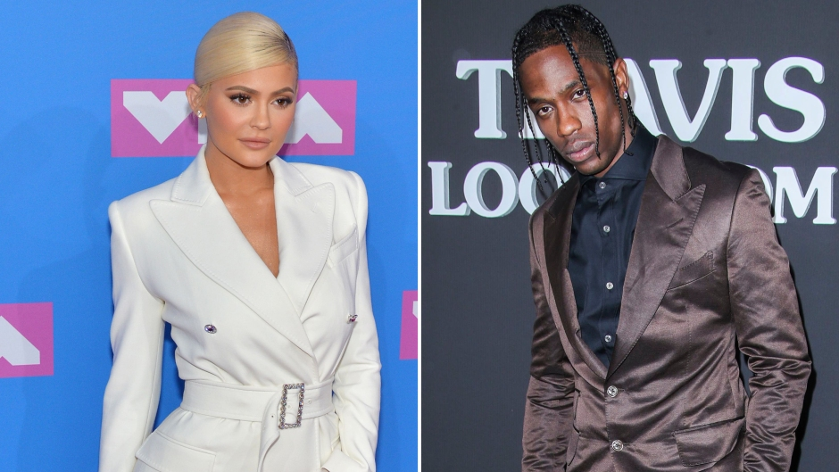 Side-by-Side Photos of Kylie Jenner and Travis Scott