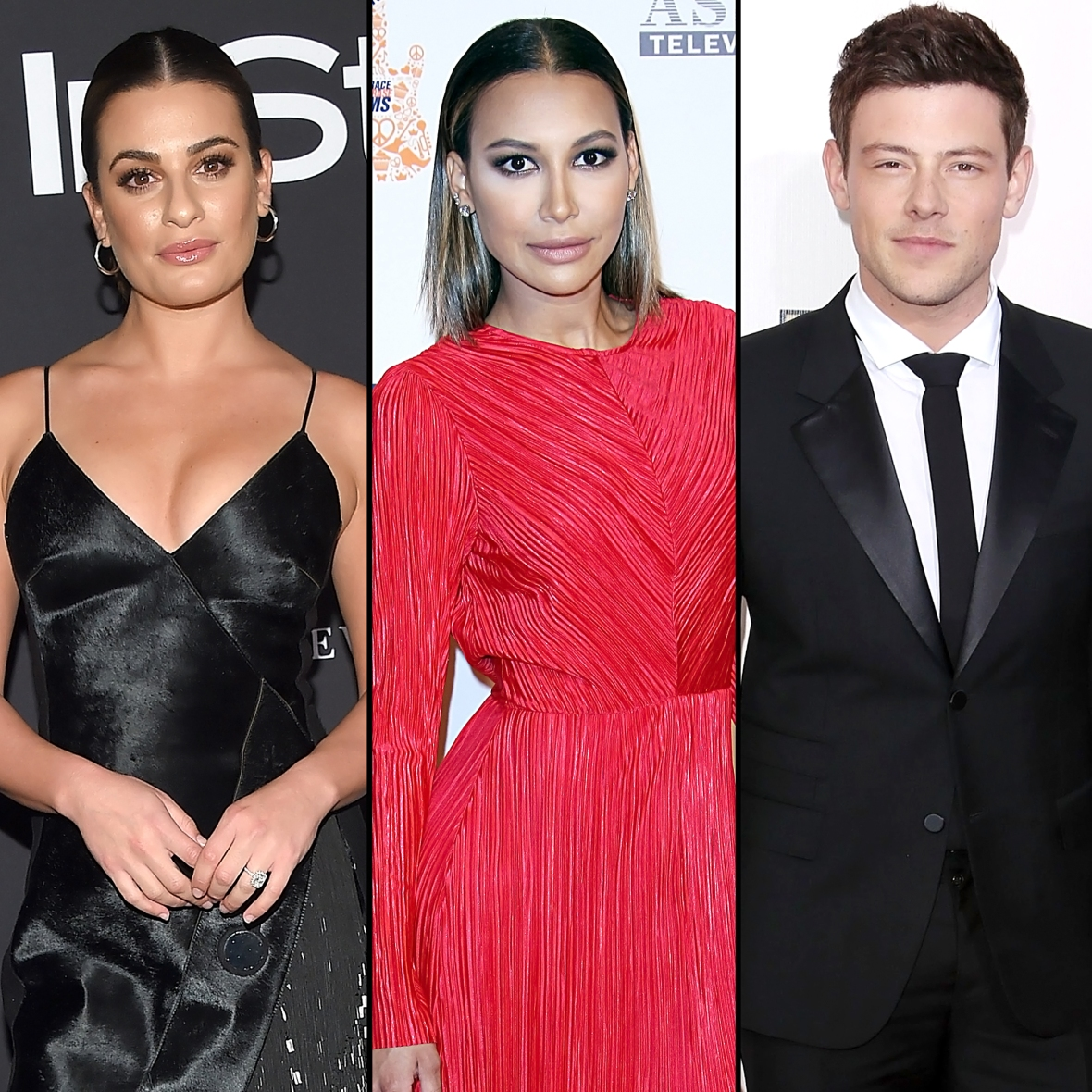 Lea Michele Pays Tribute Naya Rivera Ex Cory Monteith After Actress Death Is Confirmed