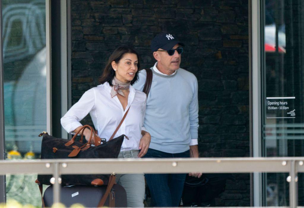 Matt Lauer and Girlfriend Shamin Abas