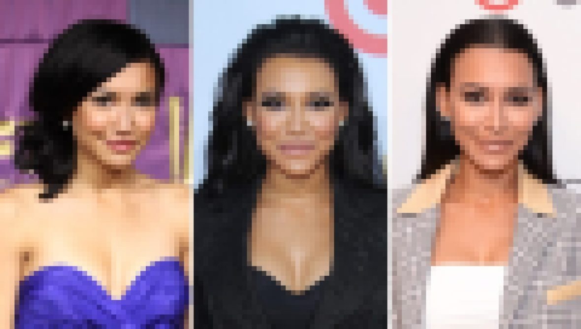 Three Side-by-Side Photos of Naya Rivera
