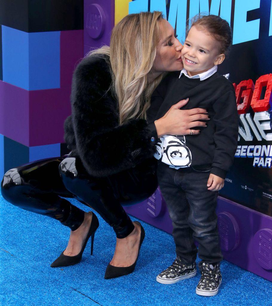 Naya Rivera Kissing Son Josey
