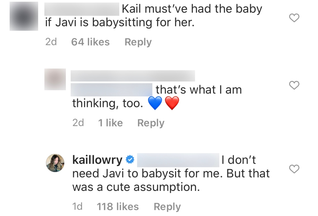 Teen Mom 2 Star Kailyn Lowry Slams Claim That Javi Marroquin Was Babysitting Sons