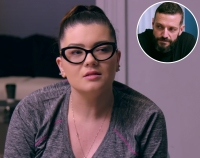 Inset Photo of Dimitri Garcia Over Photo of Amber Portwood