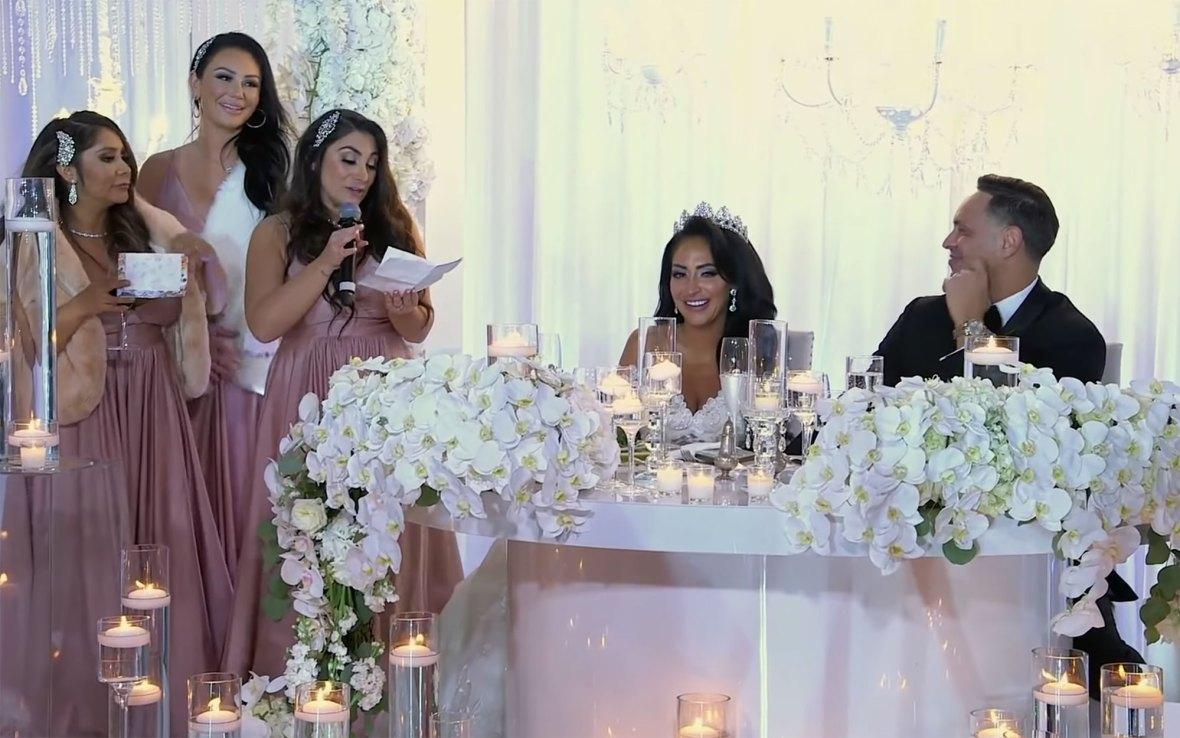 Wedding Speech Angelina Pivarnick Jersey Shore Drama