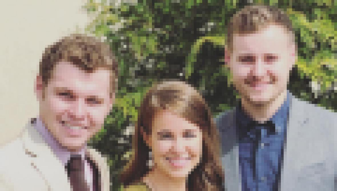 Jeremiah, Jana and Jedidiah Duggar
