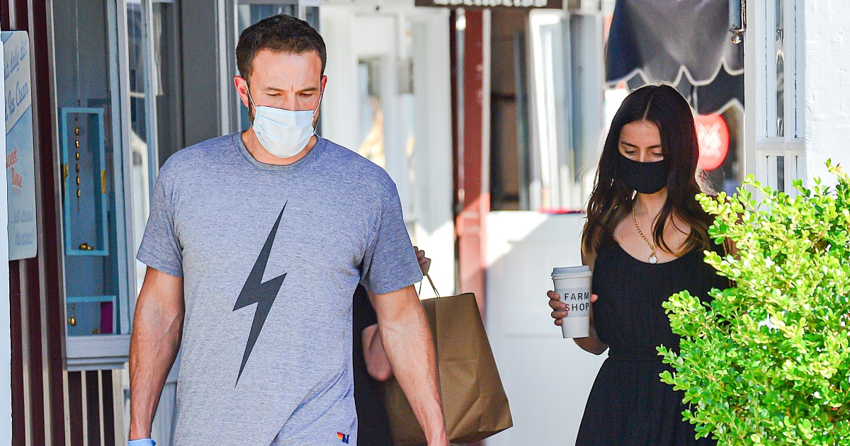 Ben Affleck, Ana de Armas and Seraphina Spotted Together in Brentwood