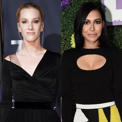 naya rivera glee costar heather morris wants to join search party