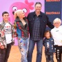 Gwen Stefani With Blake Shelton and Her boys