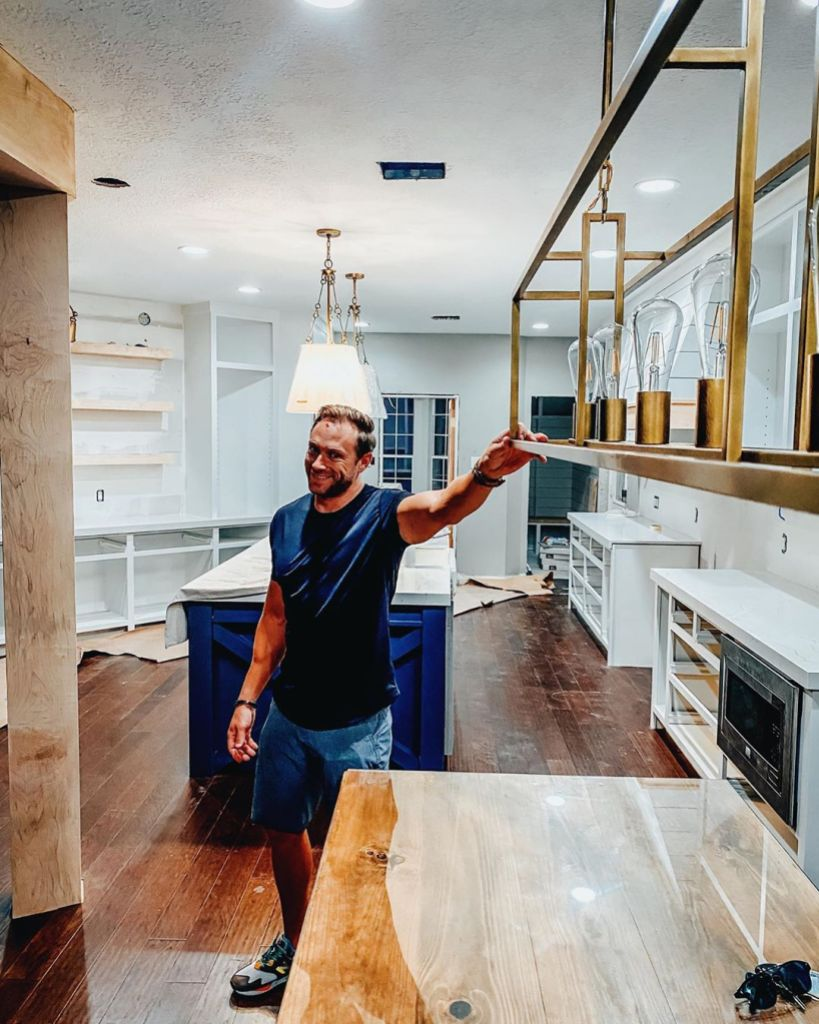Adam Busby Claps Back at Interior Design Comment After Injuring Head