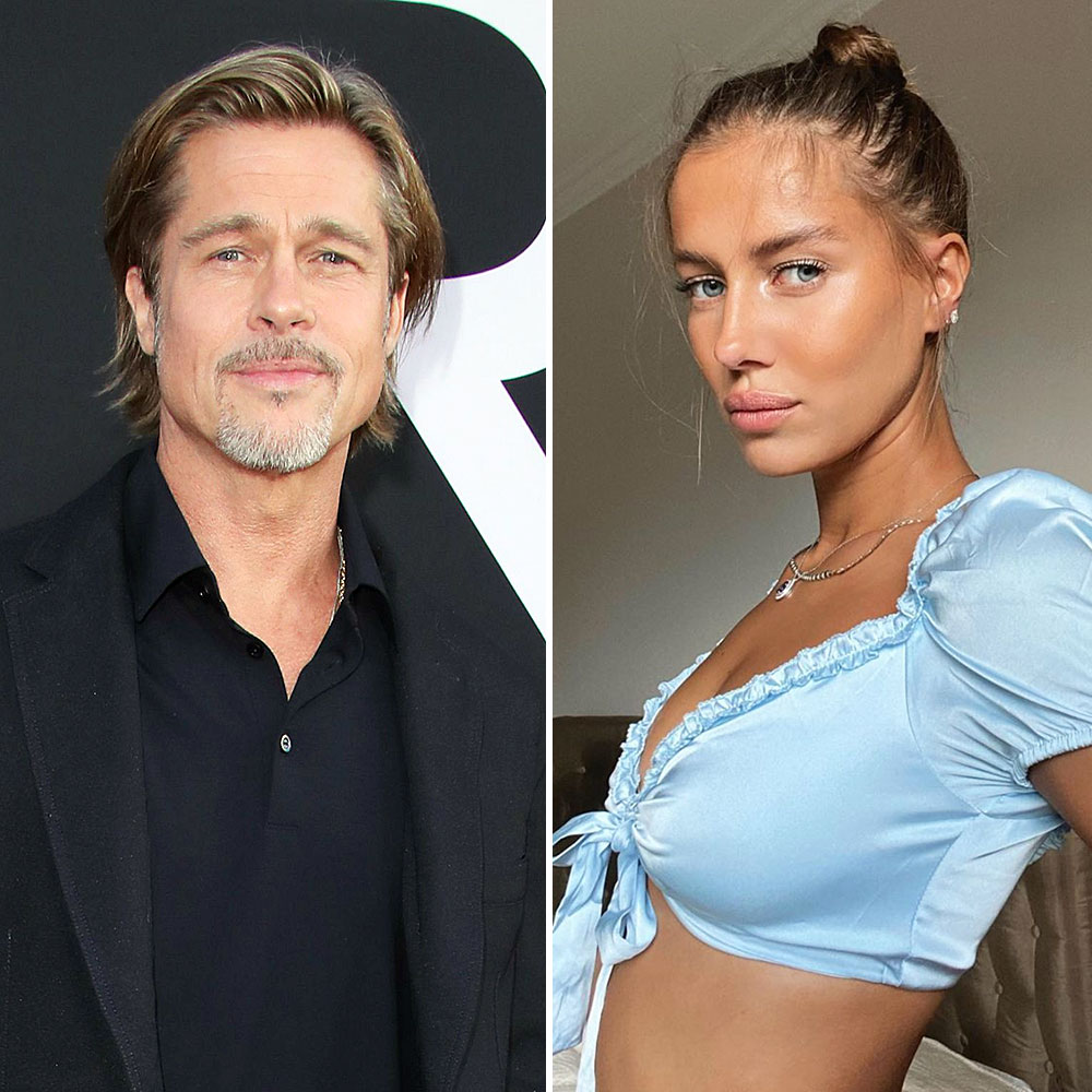 Brad Pitt and Nicole Poturalski Are in Early Days But Enjoying Their Time Together