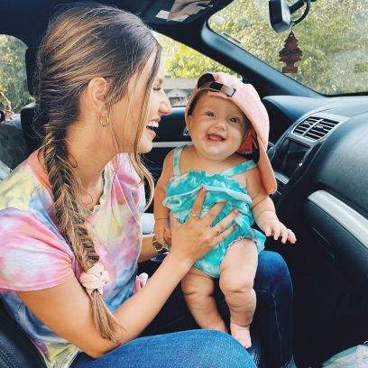 Carlin Bates and Daughter Layla