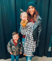 Chelsea Houska With Daughter Layne and Son Watson