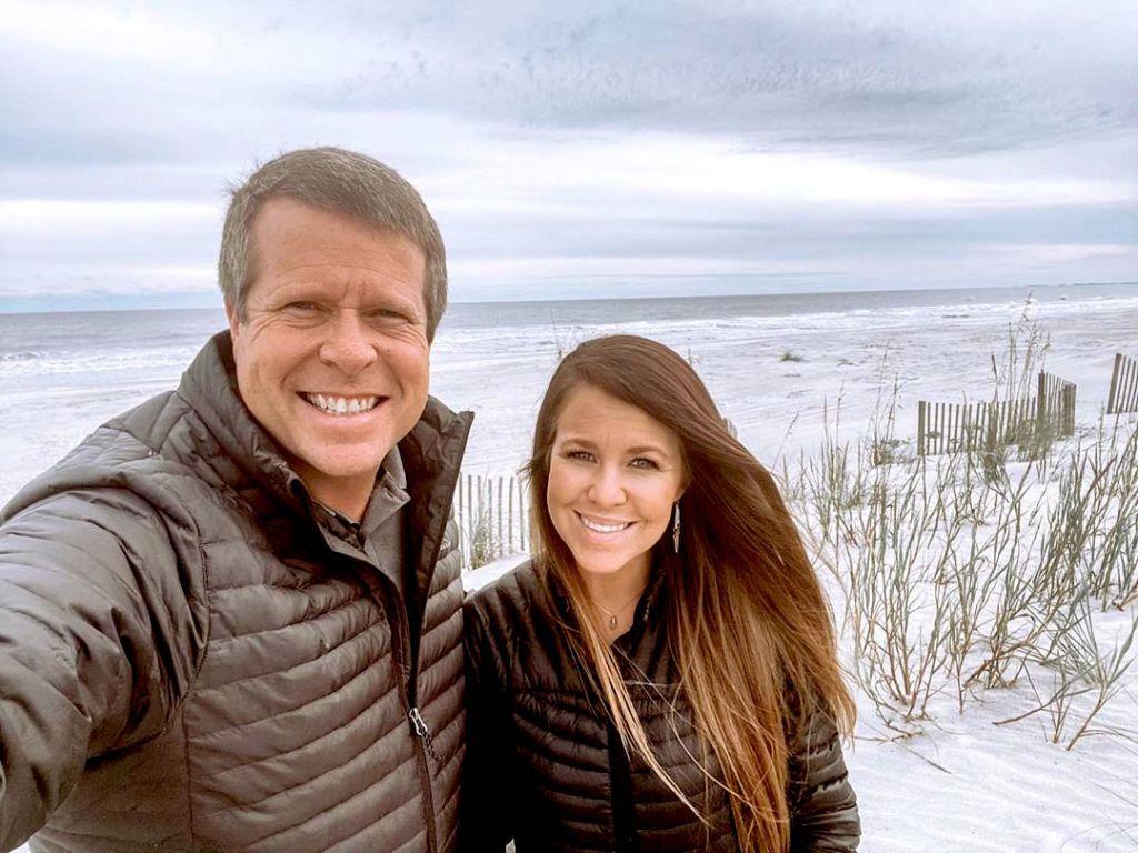 Jana Duggar and Dad Jim Bob Duggar Selfie