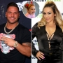 Side-by-Side Photos of Ronnie Ortiz-Magro and Jen Harley With Inset Photo of Daughter Ariana