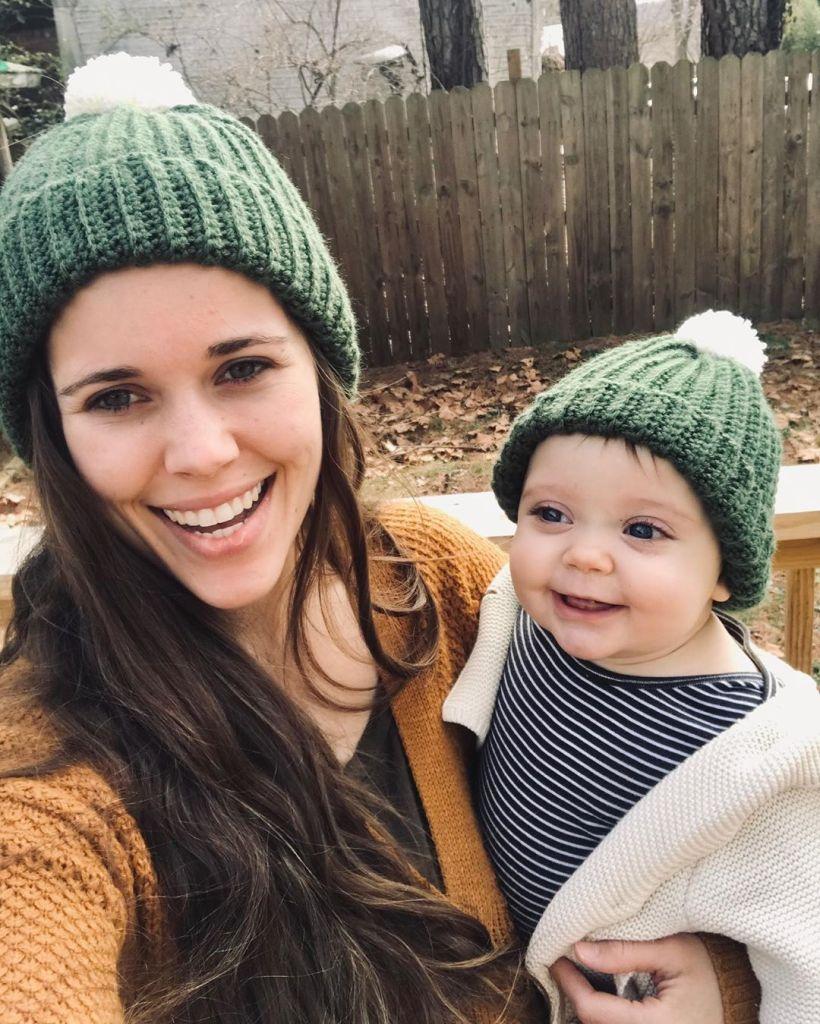 Jessa Duggar Selfie With Daughter Ivy
