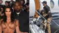 Kim Kardashian and Kanye's Son Saint Spotted in Wyoming Amid Drama