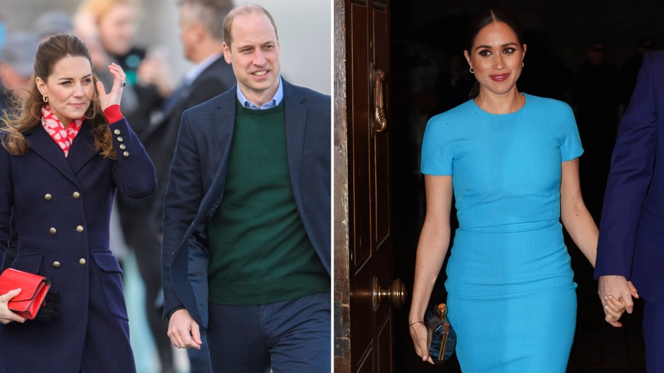 Meghan Markle Gets Birthday Wishes From William and Kate Amid Feud (1)