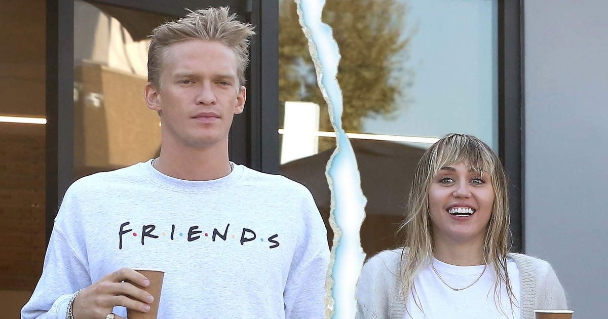 Calling It Quits! Miley Cyrus Splits From Boyfriend Cody Simpson