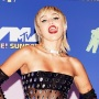 Miley Cyrus Rocks Sheer Black Dress at MTV VMAs Photos