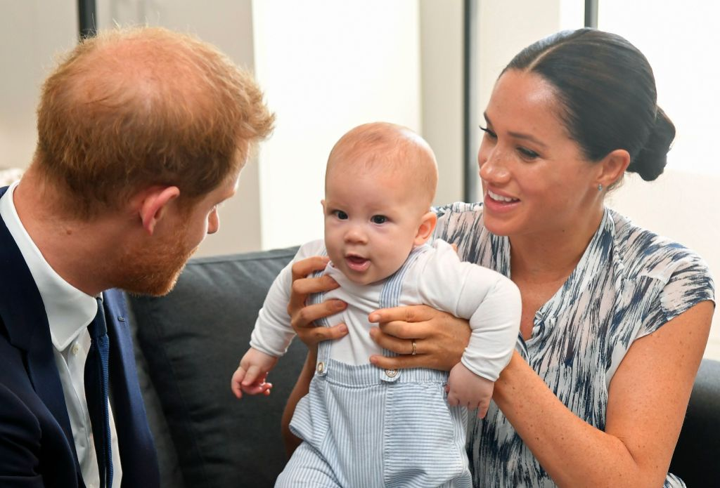 Prince Harry Son Archie Photos