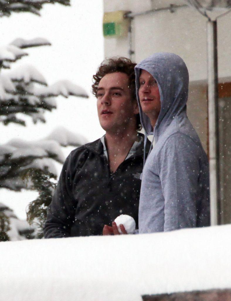 Prince Harry and Friend Skippy Photos